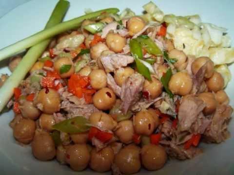 Tuna And Ceci Bean Salad