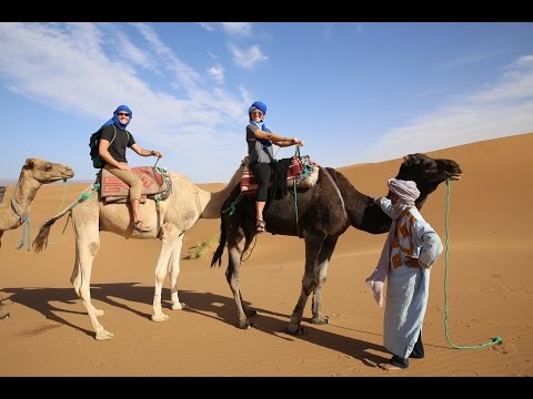 RIDING CAMELS THROUGH THE SAHARA | MOROCCO