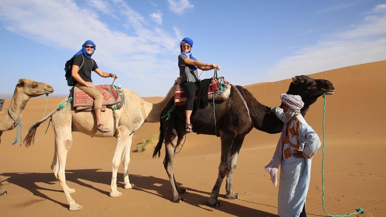 RIDING CAMELS THROUGH THE SAHARA | MOROCCO
