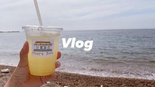 VLOG | 태안 당일치기 여행 • 공시생 브이로그 •…