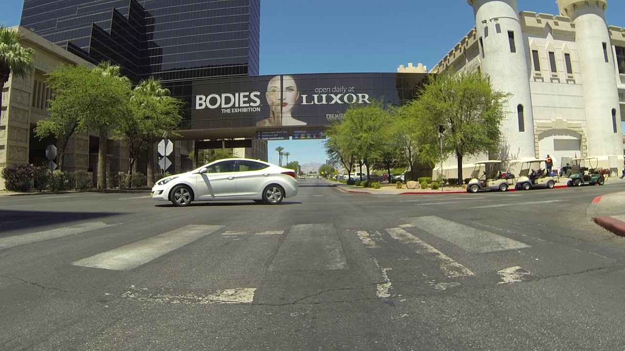 Luxor Self Parking for the Excalibur Hotel & Casino, Las Vegas, Nevada, 21  June 2018, GP012428