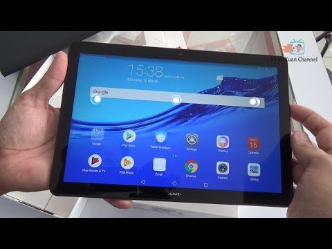 Unboxing Huawei Mediapad T5 10.1 Inch Black Color
