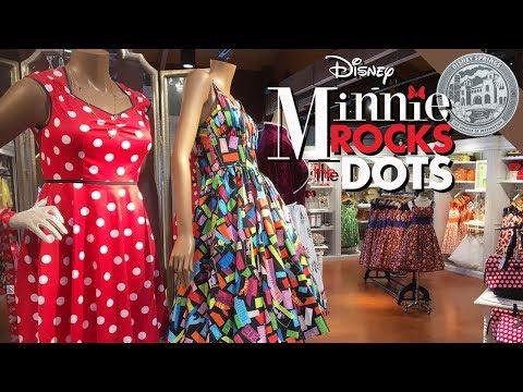 NEW DRESSES @ The Dress Shop #ROCKtheDOTS   Disney Springs