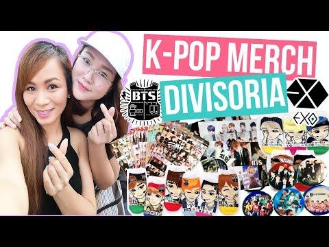 DIVISORIA KPOP MERCH SHOPPING!   BTS and EXO Merch - YouTube