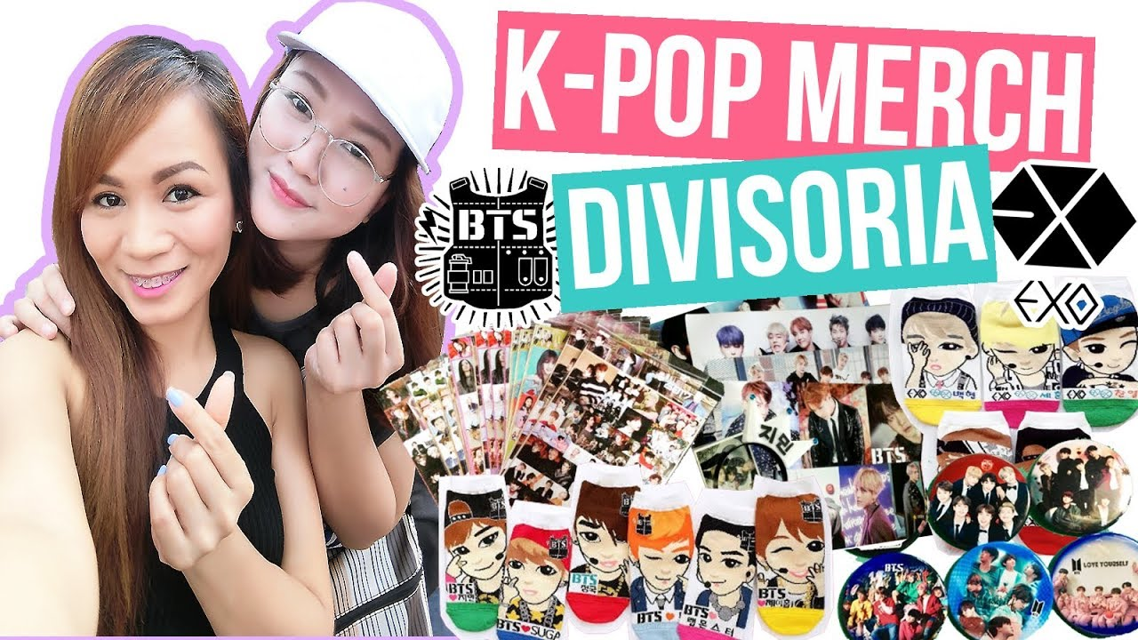 DIVISORIA KPOP MERCH SHOPPING! | BTS and EXO Merch