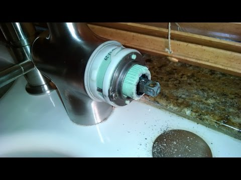 Superbe Home Repair Grohe WARRANTY NOT HONORED Kitchen Faucet Single Handle Replace  Cartridge By Froggy