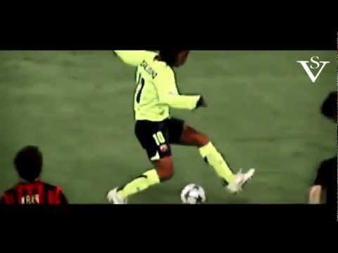 видео финты рональдинио: