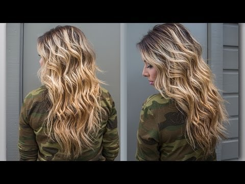 How To Perfect Beach Wave Hair