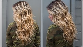 How to : Perfect Beach Wave Hair!
