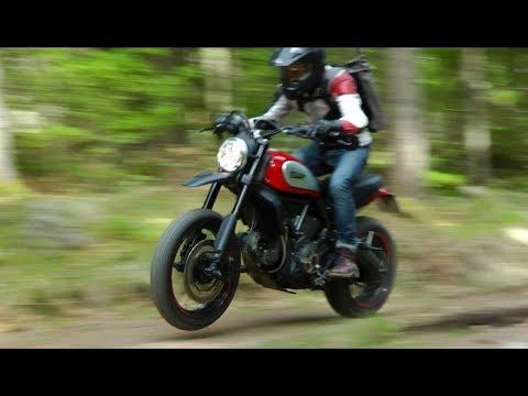 Ducati Scrambler 803 on Dusty Roads - Adventure #1