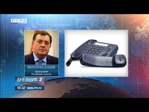 Dodik: Degutantno prebacivanje odgovornosti na Srbe i Srbiju