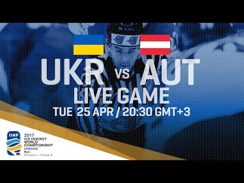Ukraine - Austria | Full Game | 2017 IIHF Ice Hockey World C