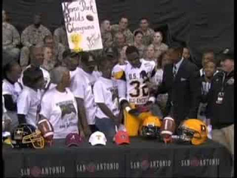 2010 Army Bowl | C.J. Mosley Commitment