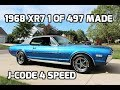 1968 Mercury Cougar XR7 4 Speed J-Code For Sale