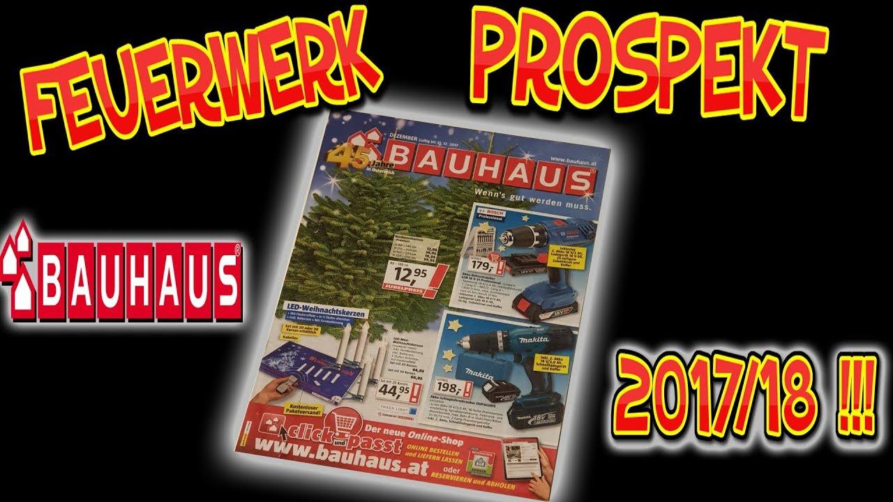 Bauhaus Feuerwerks Prospekt 201718 Youtube