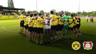 Finaaal! u17 reaches the final! | borussia dortmund - bayer 04 leverkusen 2:0 | highlights