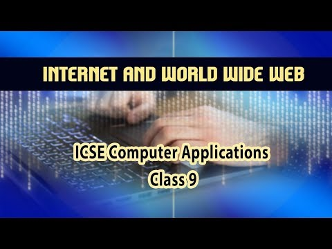 Computer Application- Internet and World Wide Web | Basic | History of Internet  | 06