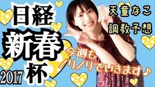 【競馬】日経新春杯2017 天童なこの調教予想☆