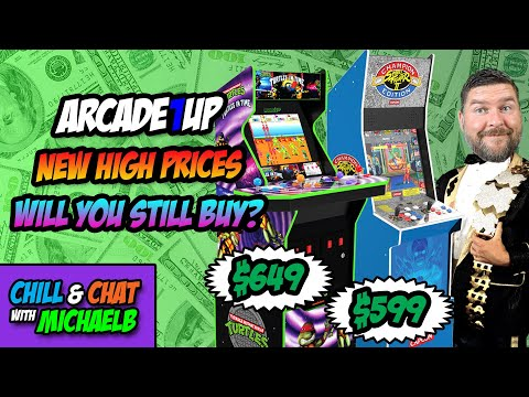 Arcade1Up New Higher Prices from MichaelBtheGameGenie