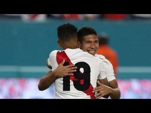 Perú 2 - Croacia 0   NARRACIÓN de América Television