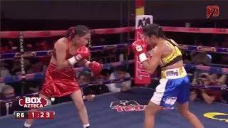 """Silvia """"Guerrerita"""" Torres vs Maria Soledad Vargas"""