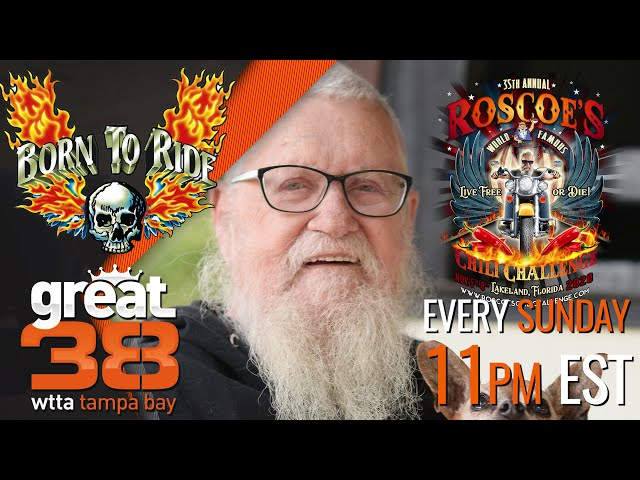 This Week on Born To Ride TV Episode #1282 - Roscoe's Chili Challenge Interview