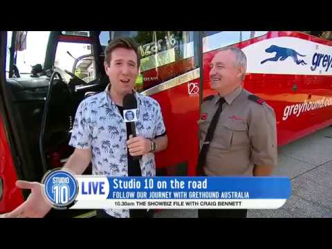 #Studio10Roadtrip With Greyhound Australia