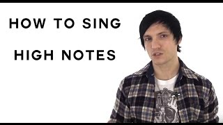 How To Sing High Notes - Simple Tips To Learn How To Sing Higher