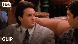 Friends: Chandler Sees Rachel Naked (Season 1 Clip) | TBS