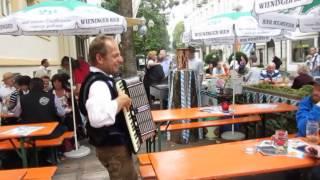 Slowenischer Bauerntanz, Turboreini mit Diskant Midi Funk 2014 Oktoberfest Atrium