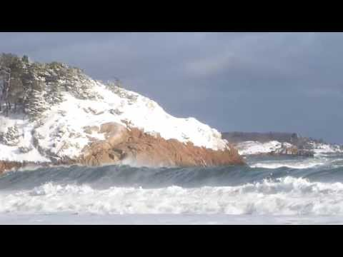 Classic New England Nor'easter Cape Ann, Massachusetts January 3, 2014