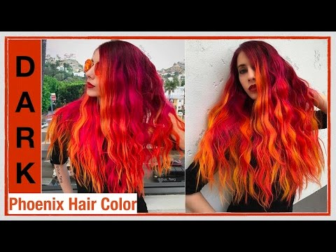 Dark Phoenix Hair Color