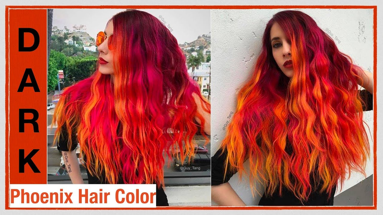 Photo Of Color Lounge Burbank Ca United States Fire Dess Phoenix Hair