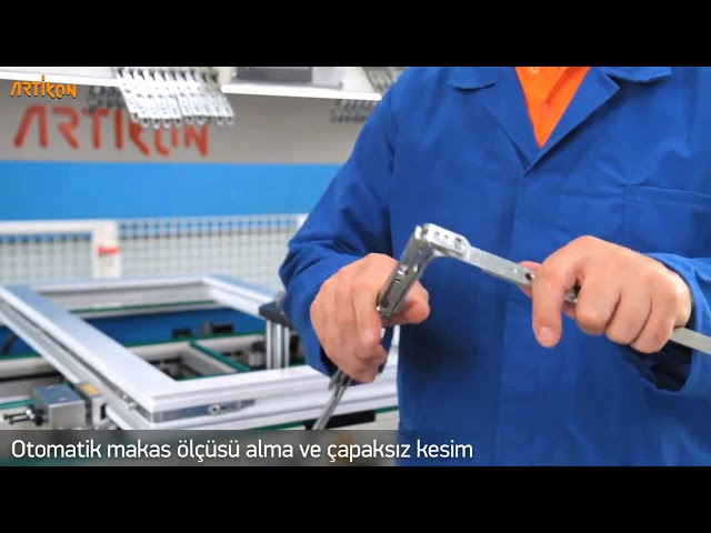 WS 134 Sash Assembly Center with Water Slot Drilling1080p