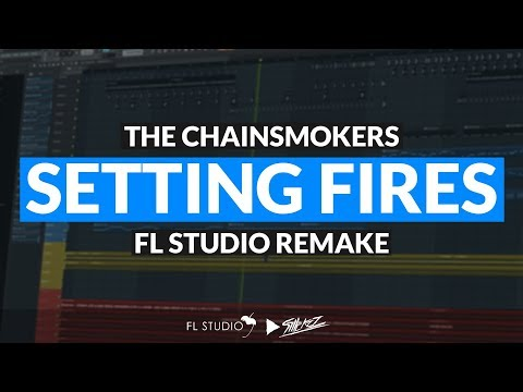 The Chainsmokers - Setting Fires Ft. XYLØ (Instrumental/FL Studio Remake)