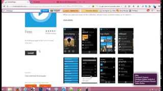 How to install windows phone apps from your pc and share with friends 2015