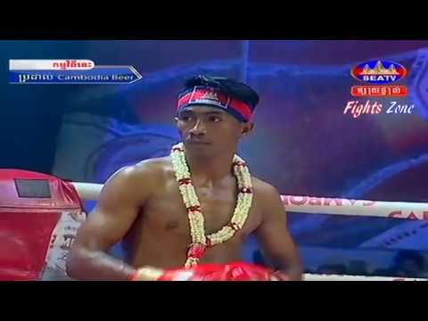 Kun Khmer, Khim Dima Vs Thai, Aramboy, SEATV boxing, 05 Feb 2017, Cambodia Beer Champion Tournament,