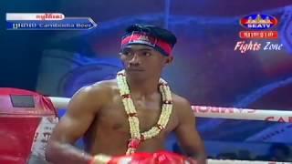 Kun Khmer, Khim Dima Vs Thai, Aramboy, SEATV boxing, 05 Feb 2017, Cambodia Beer Champion Tournament,