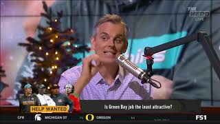 Colin Cowherd  Clear Lamar Jackson is better QB than Baker Mayfield   The Herd