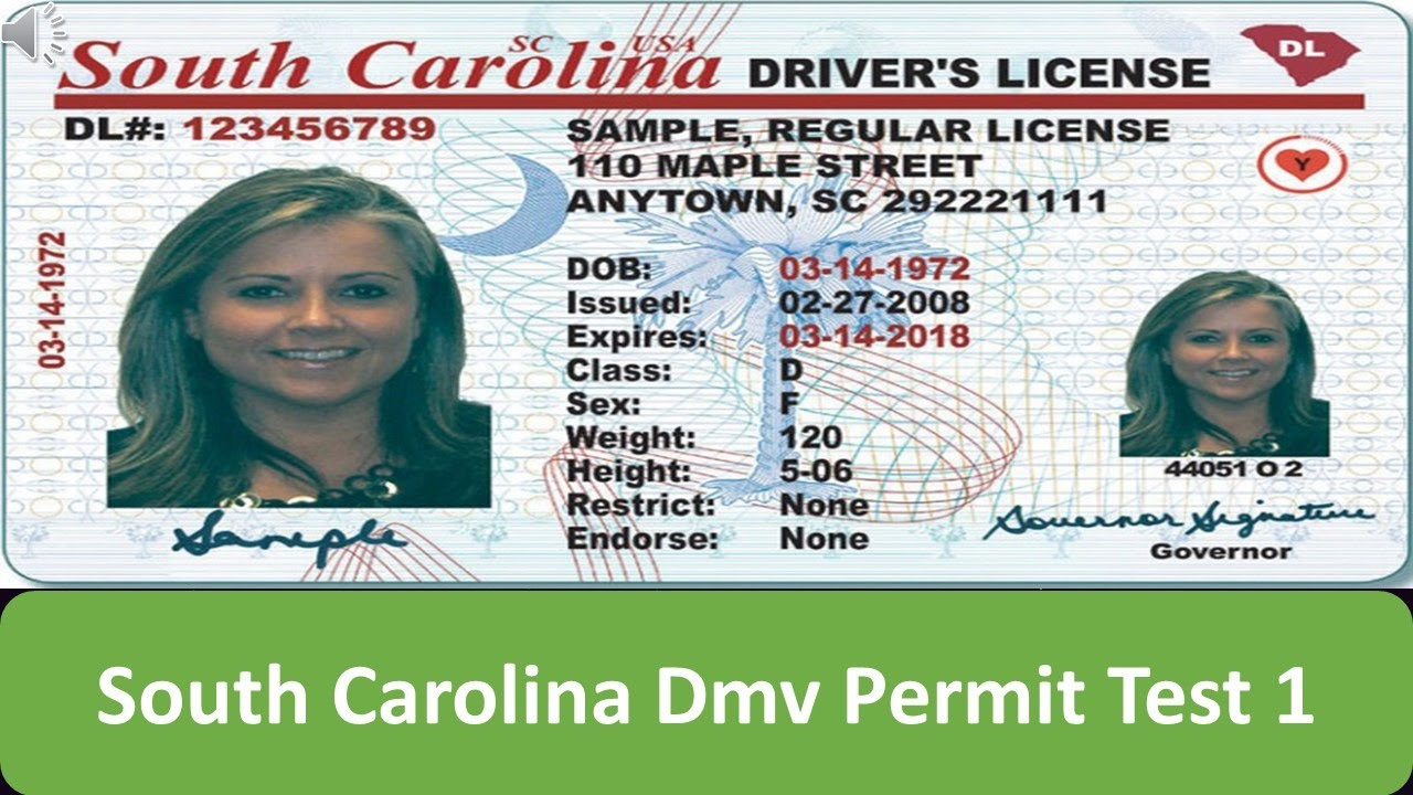 new resident sc drivers license