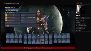 injustice 2 movie version wonder woman destroying others
