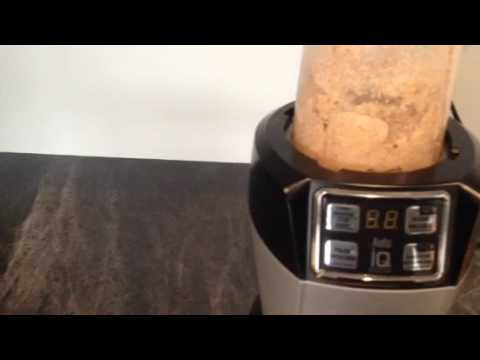 how to make almond butter in ninja