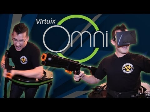 MUST SEE!! | Markiplier Tests the Virtuix Omni