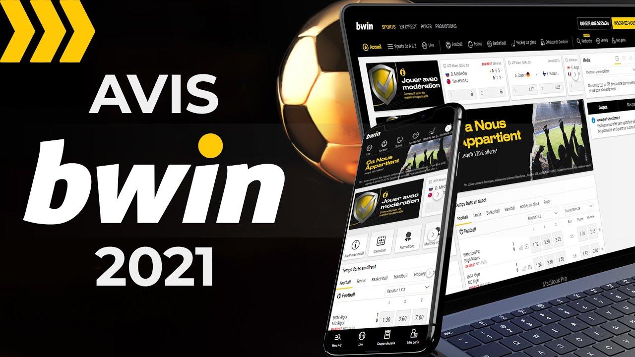 Bwin Bookmaker 2021 ᐉ Avis sur le Site de Paris Sportifs video preview
