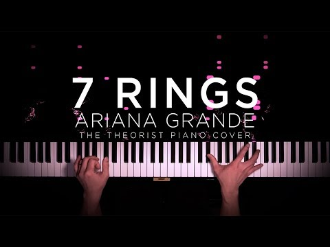 Ariana Grande - 7 Rings  The Theorist Piano Cover
