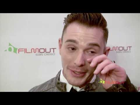 Sean Lockart gets Emotional at FilmOut