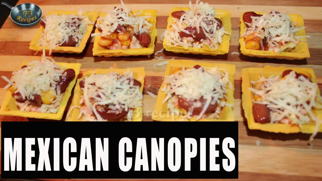 How to make Mexican Canopies II ???????? ??????? II By Chef Satvinder Kaur  sc 1 st  YouTube : food canopies - memphite.com