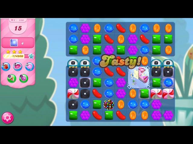 Candy Crush Saga niveau 520