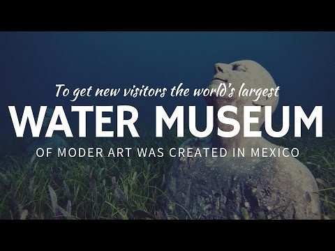 Underwater Sculpture Museum: Unusual Place for Diving in Cancun, Mexico