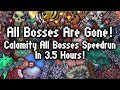 Calamity Speedrun: All Bosses Killed In 3.5 Hours!